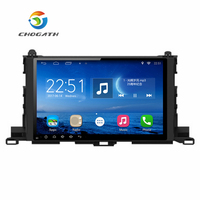 ChoGath 10.2'' 2 din Quad Core 1024*600 Android 9.0 Car radio Navigation GPS Player for Toyota Highlander 2014 2017 with Canbus
