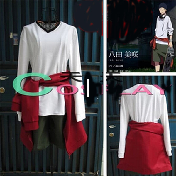 Hot Sell!K Project Yata Misaki Anime Cosplay Costume Full Set Free Shipping  NEW