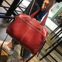 Famous Brand Real Genuine Leather Shoulder Bag Luxury Handbags Women Bags Designer Vintage Large Casual Tote Bag Female