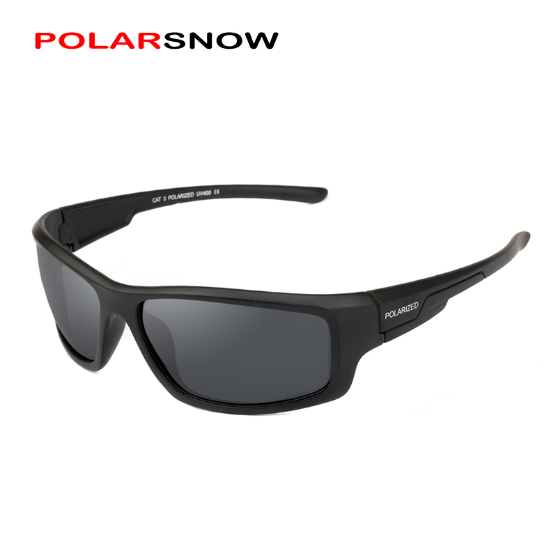 POLARSNOW 2018 New Sport Sunglasses Men and Women Brand Designer Coating Mirrored UV400 Protection Driving Sun Glasses PS8618