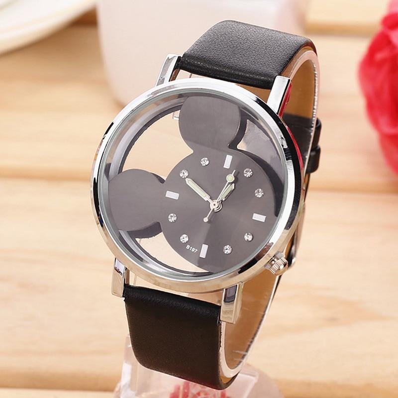 1355ff8b563 Relógios das Crianças relógio feminino moda oco transparente Movimento    Quartzo