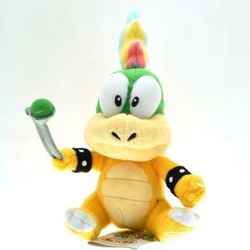 5pcs/lot 14cm Lemmy Koopa Plush Toys Doll Super Mario Bros Lemmy Bowser Koopalings Plush Stuffed Toy for Children Kids Gifts фото