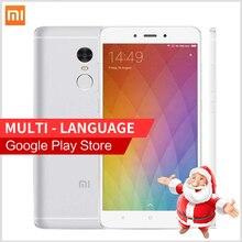 "Original Xiaomi Redmi Note 4 2GB RAM 16GB ROM Smartphone MTK Helio X20 Note4 4G 5.5 "" MIUI 8 Fingerprint ID cell phones"