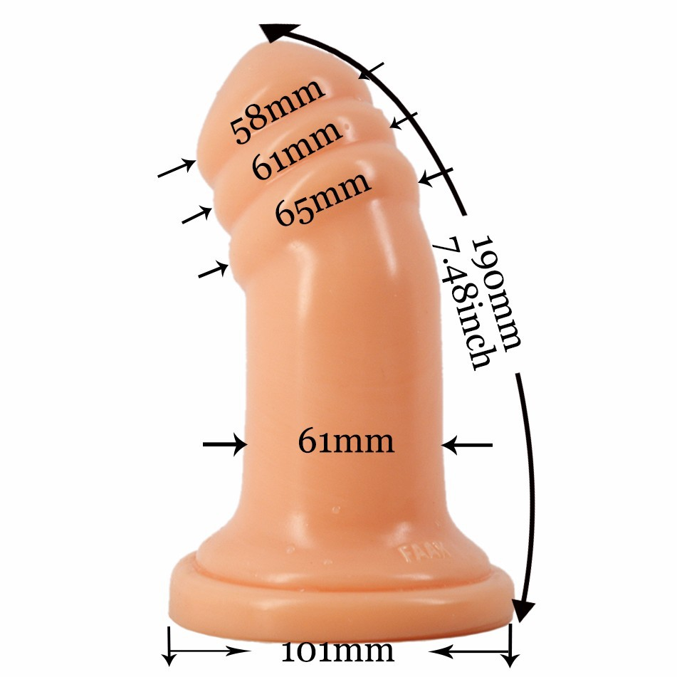 For Women Anal Plug Sex Toys for Woman Thick Full-Fill Big Dildo Realistic Buttplug Couples Erotic Gay Male Sexshop new anal dildo realistic dildo with strong suction cup fake penis long butt plug anal plug sex toys for women sex products