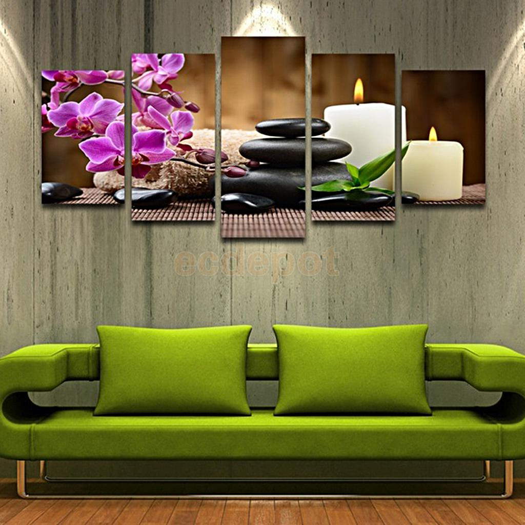 Home Office Sets Painted Office 5 Piece: Modern Art Canvas Oil Painting Pictures Home Office Wall