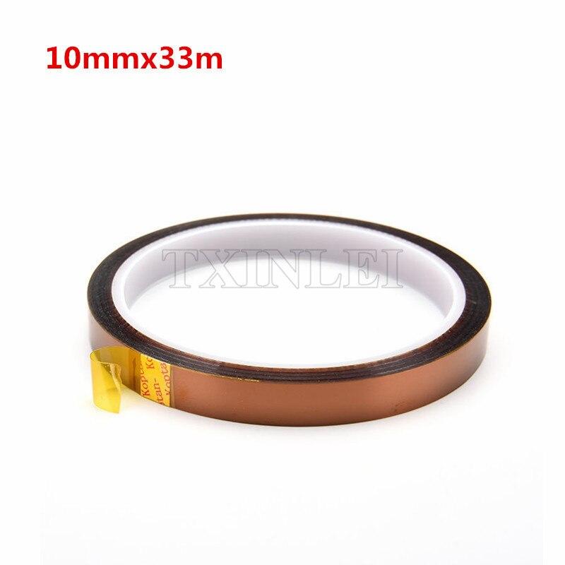 50 Pcs lot Polyimide tape film High Temperature for BGA Soldering 10mm x 33m