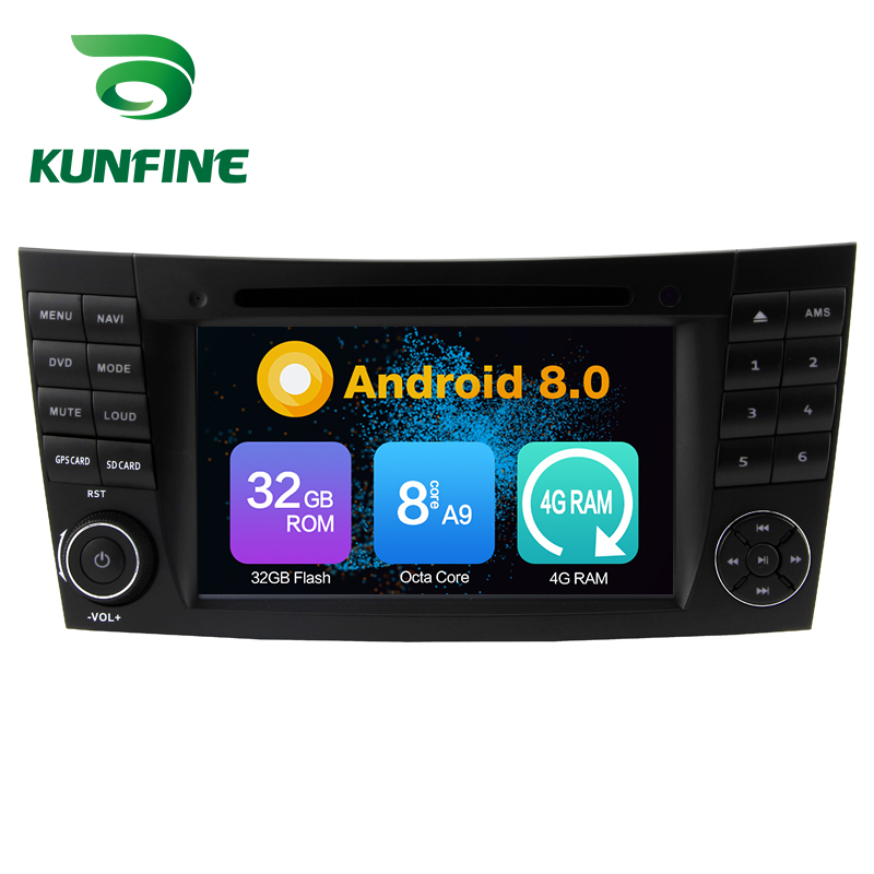 все цены на Octa Core 4GB RAM Android 8.0 Car DVD GPS Navigation Multimedia Player Car Stereo for Benz E-Class W211 CLS W219 CLK W209 G W463 онлайн