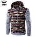 2016 Hoodies Men Hombre Hip Hop Male Brand Leisure Hoodie Digital Printing Sweatshirt Suit Mens Splice Slim Fit Men Hoody FANZ