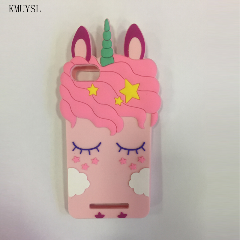 Wiko Unicorn Soft Cartoon Cute Pony 3d For Pink Lenny 3 Case Stitch dxsChtQrB