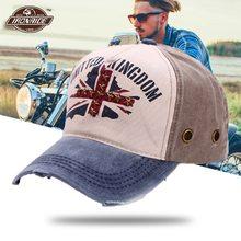 Ricamo Lavato Cappellini da Baseball Moto Papà Cappello Moto Biker Equitazione Caps Moto D'epoca Snapback Moto Casco Cappelli