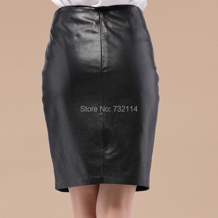 Hot 2015 Spring Women Black Leather Look In Soft Touch High Waist ...