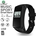 HOLDREAM HF50 Heart Rate Monitor U Disk Music Player Smart Wristband Bluetooth Smart Band Sport Healthy for iPhone  IOS Android