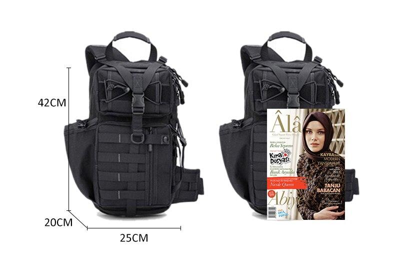 Sacos do exército militar mochila de camuflagem