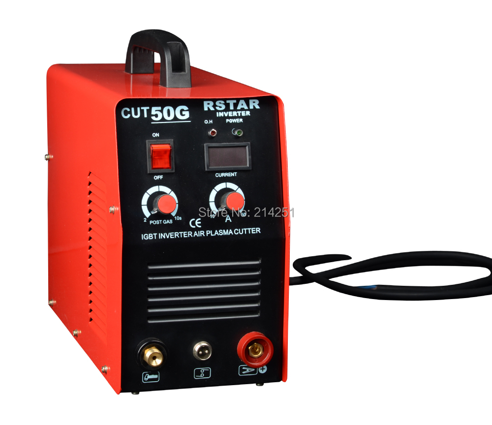 2016 Hot Sales High quality China Rstar Portable Digital New DC Inverter Air Plasma Cutter 50 Amp plasma cutting machine ship from germany portable dc inverter plasma cutter with pressure gauge waterproof 5 5kva 220v
