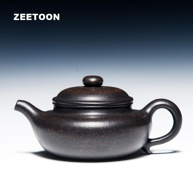 200 куб. См аутентичный чайный горшок Yixing, китайский чайный набор ручной работы из фиолетовой глины, чайный набор кунг фу, Античный Чайный гор