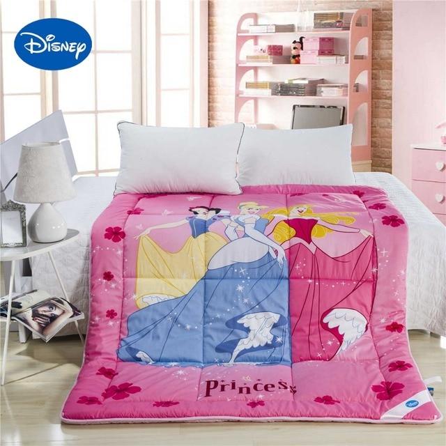 prinses dekbedden hoge kwaliteit disney merknaam katoen cover meisjes slaapkamer decor twin volledige queen size quilt