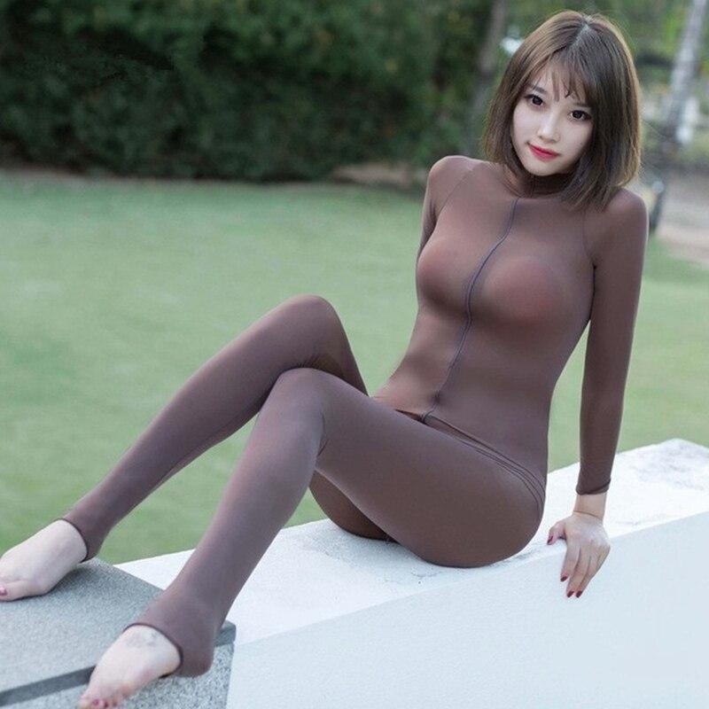 Sexy dessous Bodys heiße Erotische dessous öffnen gabelung elastizität mesh transparent körper strümpfe heißer Fetisch unterwäsche kostüme