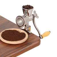 Stainless Steel Manual Grinding Miller Corn Flour Mill Machine Coffee Bean Grinder Nut Grinder and Spice Grinder Kitchen Tool