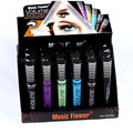 Makeup Mascara Waterproof  Curling 24 pcs 5 Colors Eye Makeup Fiber Mascara Womens  2055