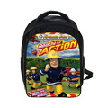 Cartoon Fireman Sam Backpack Thomas And Friends / Robocar Poli Backpack Children School Bags Kindergarten Backpacks Kids Bag
