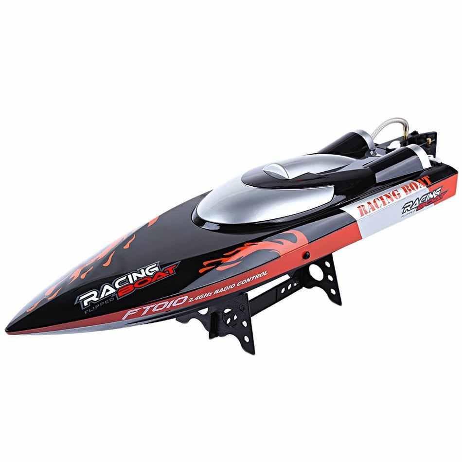 Новое поступление высокоскоростная гоночная лодка RC Fei Lun FT010 2,4G Встроенная система охлаждения с правой функцией Рождественский подарок на день рождения