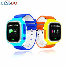 Kids GPS Watch Tracker Wrist Watch Phone Support SOS Call Personal Tracking Device For Children Anti-lost Smart Finder Tracker(China)