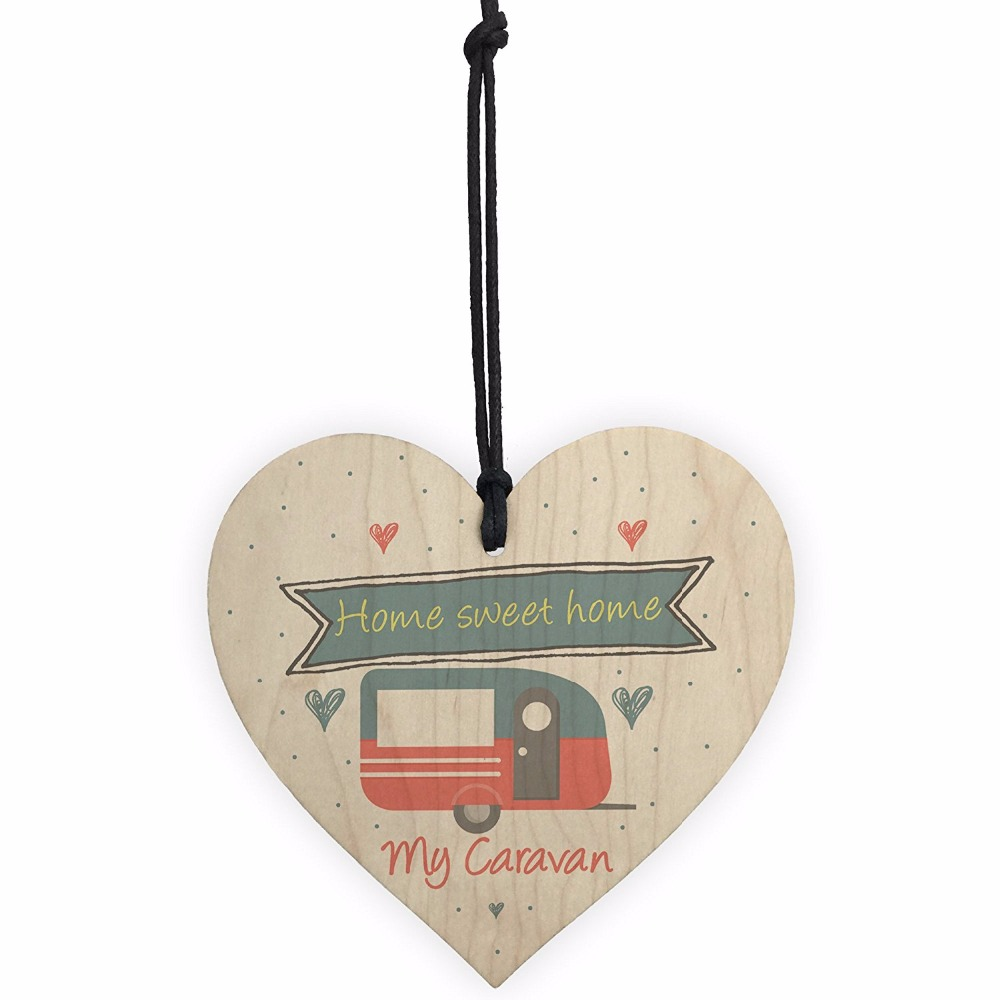 Caravan Wooden Plaque Sign so cute with different messages to choose from..!