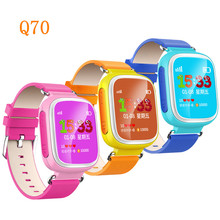Купить Смарт-часы детские наручные часы Q50/Q60/Q70 GSM GPRS GPS локатор трекер анти-потерянный SmartWatch ребенок защита для IOS Android