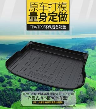 Myfmat custom trunk mat car Cargo Liners pad for Hyundai ROHENS-Coupe tiburon Azera Grand SantaFe RV Verna CELESTA Equus Genesis