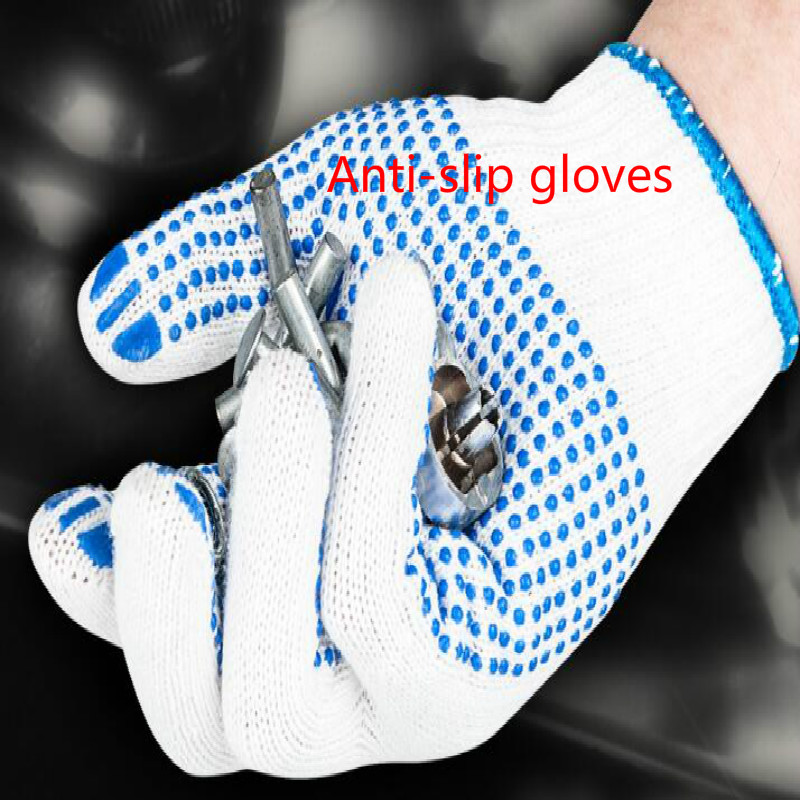 Car Repair Wearing Equipment Anti-slip Gloves 5pair/lot Free Shipping