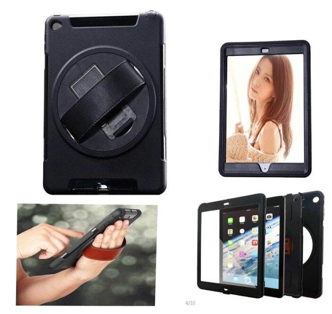 Hand Strap Shockproof Stand Case Armor Cover For iPad AIR 2 ipad 6 Full Protective Stand Case for iPad AIR2 ipad6 hand strap shockproof stand case armor cover for ipad air 2 ipad 6 full protective stand case for ipad air2 ipad6