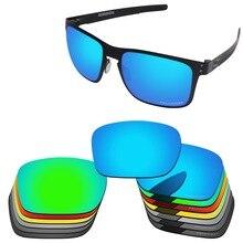 Papava Lentes de repuesto polarizadas de policarbonato para gafas de sol auténticas de Metal Holbrook OO4123, varias opciones