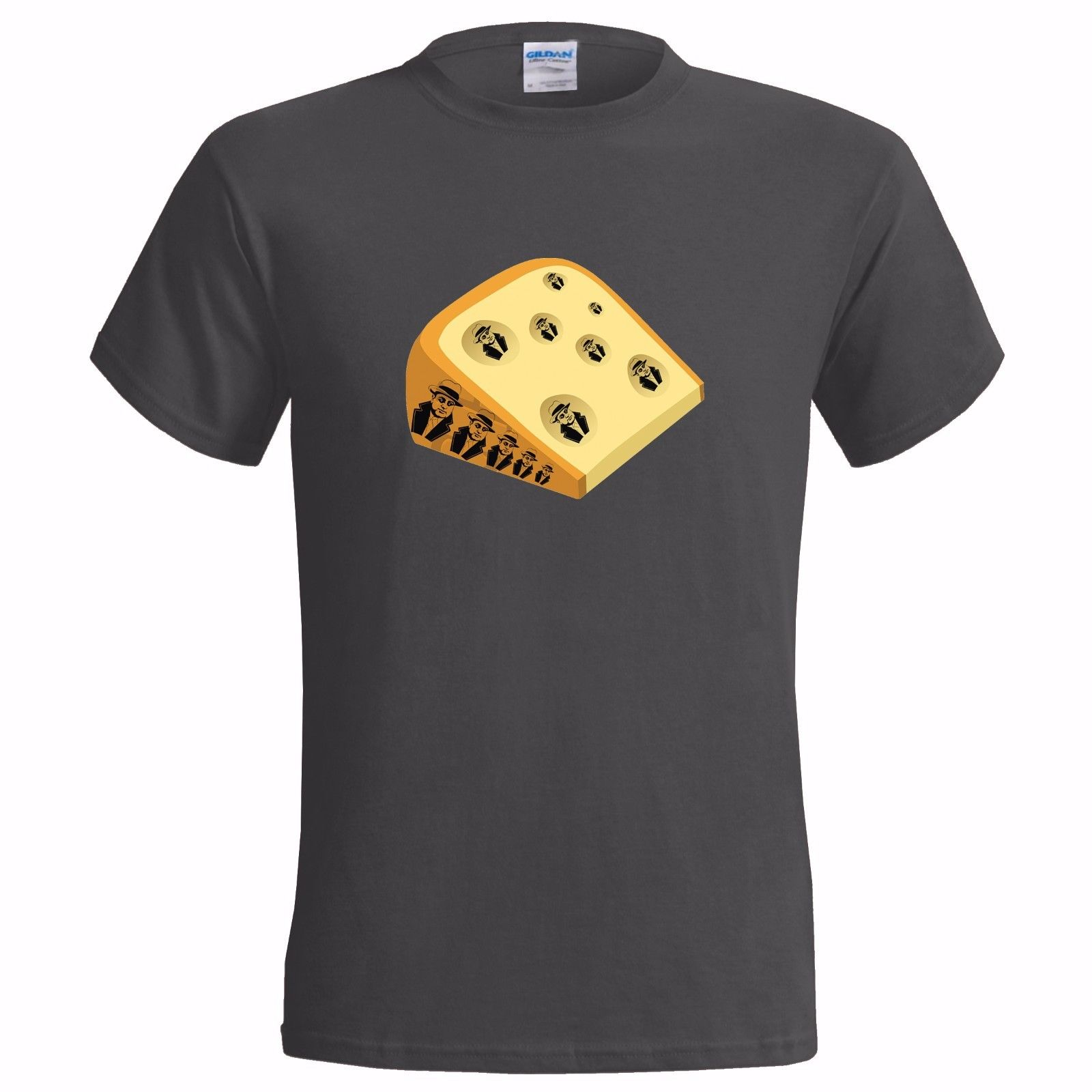 MASS CAPONE CHEESE FUNNY PUN MENS T SHIRT BAD JOKE GIFT PRESENT LOVER PUNS AL