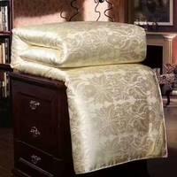 100% maulbeerseide sommer quilt tröster decke bettdecke füllung mit baumwolle abdeckung twin königin könig größe freies schnelles schiff