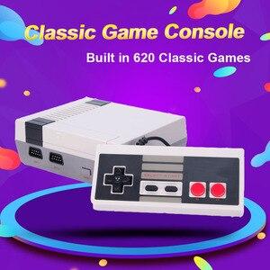Image 1 - Mini Tv Video Game Console, Nes 8 Bit Console, Gebouwd In 620 Retro Games, ondersteuning Tv Uitgang, Kinderen Gift