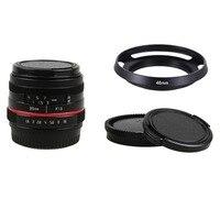 50mm f/1.8 APS-C F1.8 kamera canon lensi EOS M M2 M3 M5 M6 M10 M50 M100 Aynasız Kamera
