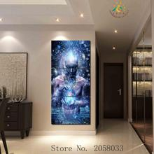 3-4-5 Pieces Religion Portrait Pictures Wall Art HD Painting For Living Room Printed Canvas