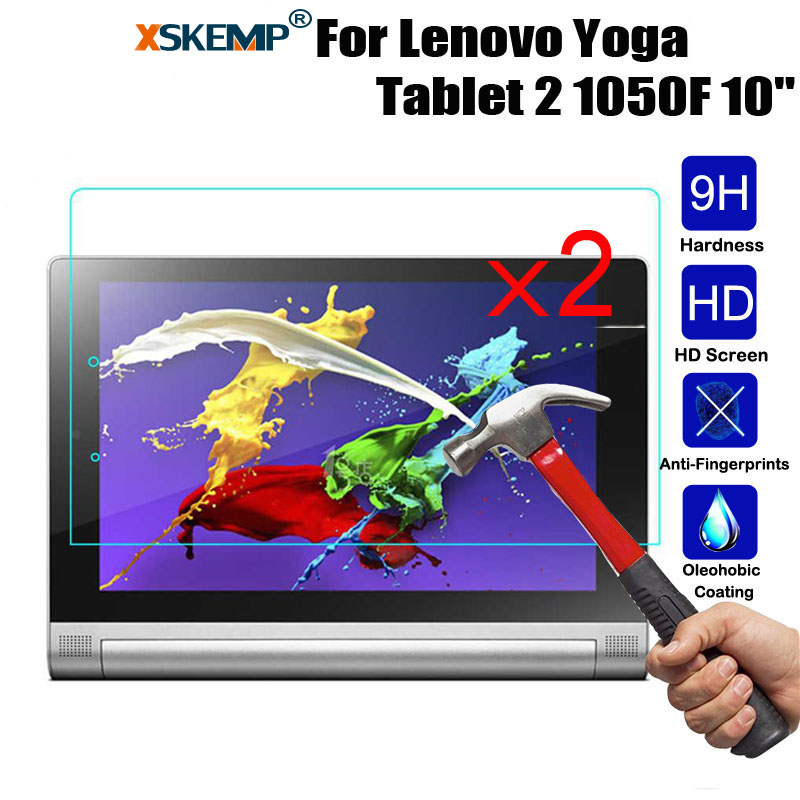 Galleria fotografica XSKEMP 2Pcs/Lot Tablet Film For Lenovo Yoga Tablet 2 1050F 10.1