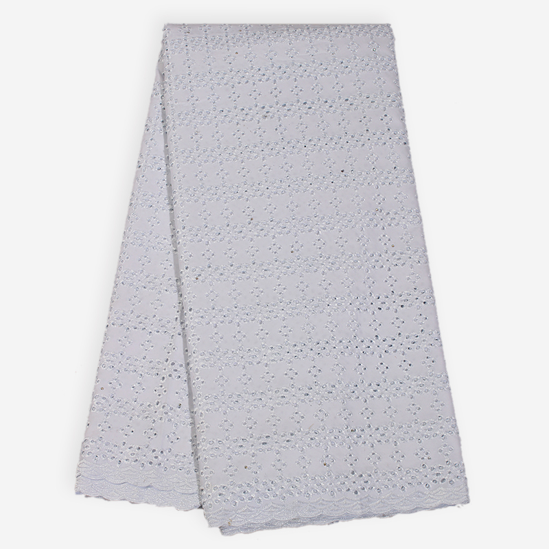 Bestway African Polish Plain Swiss Voile Lace Fabric LiLac Color Dry Cotton Eyelet Lace For Men 39 s Women 39 s Fabric In Switzerland in Lace from Home amp Garden