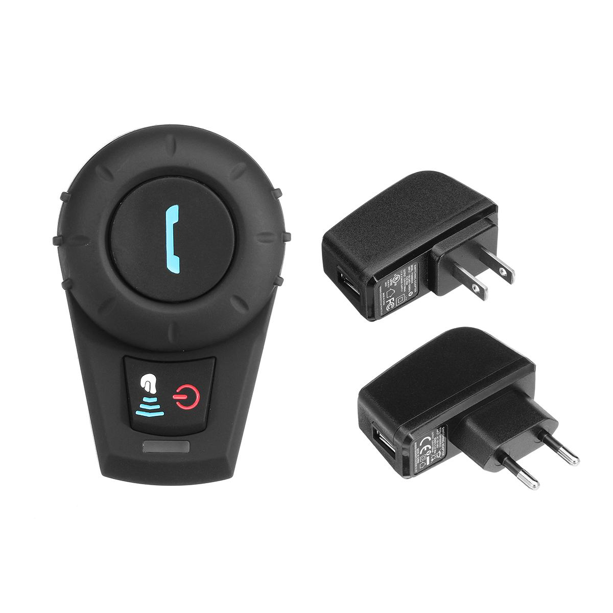 Motorrad Helm Intercom Bis zu 500 M Abstand Headset BT Sprech Mit bluetooth Funktion EU Oder Us-stecker