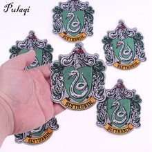 Pulaqi cosplay Potter Shcool значок Железный-на патчи для пальто DIY Вышивка Патчи аппликации для сумки пальто наклейки D