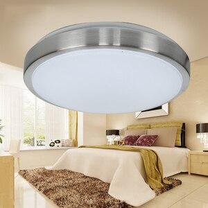 Image 4 - Индукционный светодиодный потолочный светильник с радиолокационным датчиком и звуковым управлением, Lamparas De Techo, ванная комната, лестницы, балкон, прихожая, детская потолочная лампа