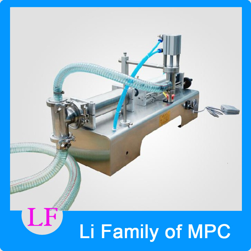 10-200ML Semi automatic Pneumatic liquid filling machine filling shampoo perfume SS304,beverage packer stainless steel liquid filling machine adjustable foot quantitative perfume filling machine cfk 160