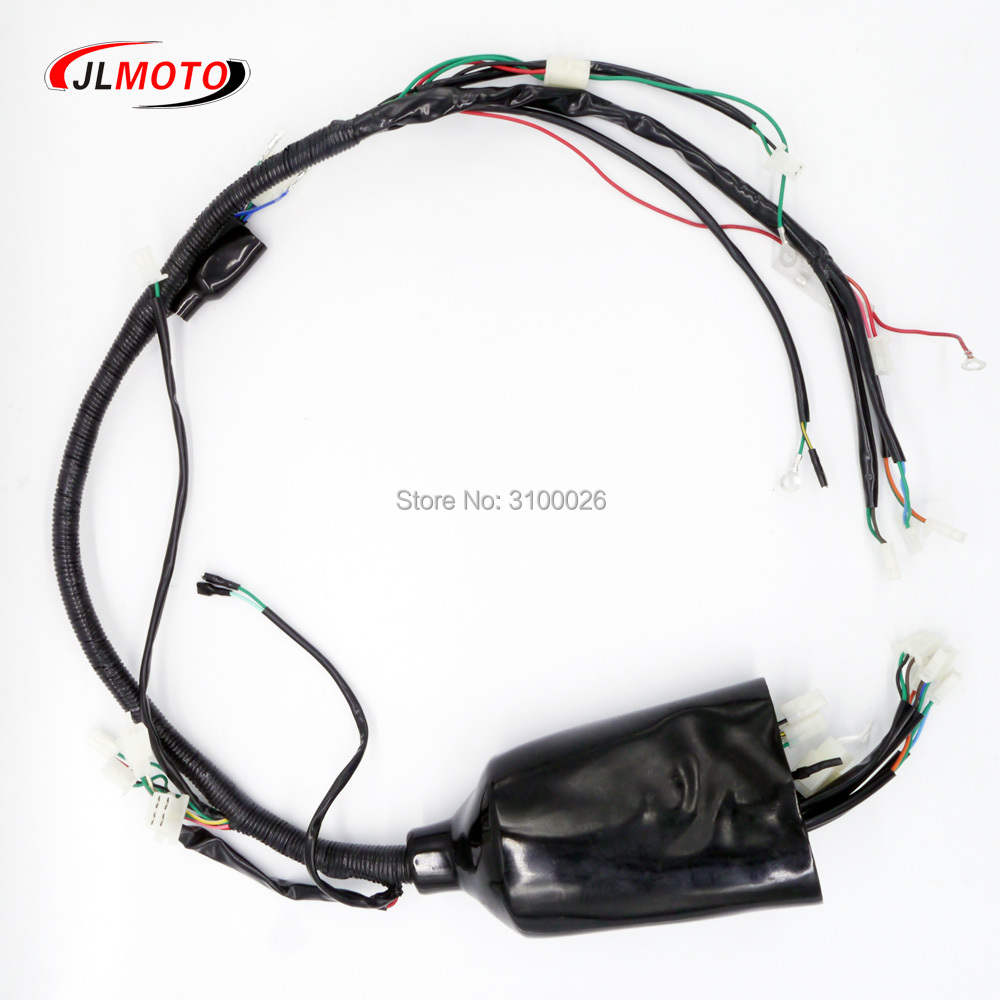 ATV Wire Loom Fit For China Racing Quad Bike ATV Jinling 250cc Parts EEC JLA-21B,JLA-923 Scooter Parts