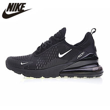 c2dad26189 Nike Air Max 270 Men's Running Shoes, Blue Black, Shock-absorbing Non-
