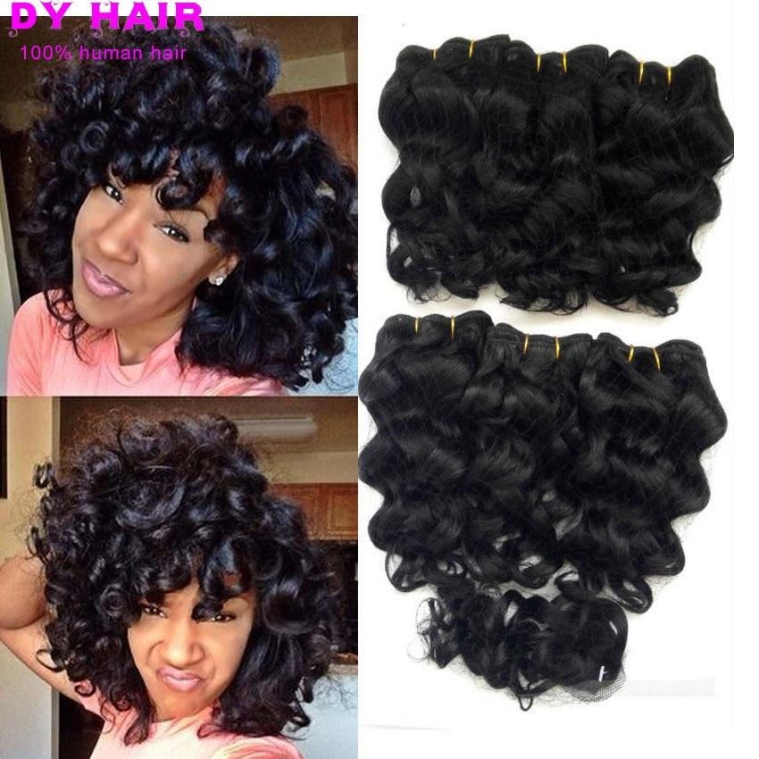 Peruvian Virgin Loose Wave Hair 6 Bundles With Closure Peruvian Deep Wave Short Hair Style With 2 2 Closure Short Deep Curly Bundles With Closure Bundle Hair With Closurebundle Hair Aliexpress