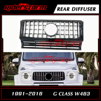 MID YEAR SALE Replacement Auto Front Bumper Mesh Grille Parts Suitable For Mercedes Benz G Class W463 1991 2016 Silver Black