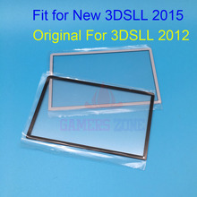 30PCS Original For Nintendo 3DSLL Top LCD  Screen Lens Cover For New 3DSXL LL 2015 Verison