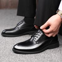 Square Plain Toe Custom Bespoke Handmade 100 Pure Genuine Calf Leather Casual Lacing Men S Dress