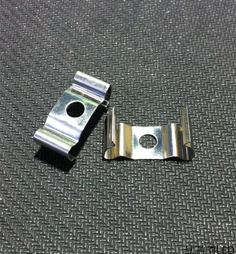 100PCS/Lot LED Rigid bar strip light clips holders